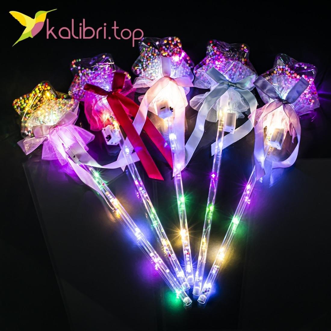Детские светящиеся палочки звездочки оптом фото 10479