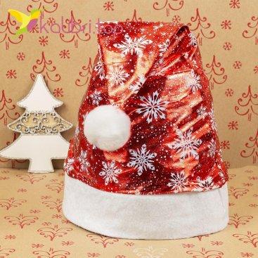 Шапки Деда Мороза метель HQ-1630 оптом фото 1431