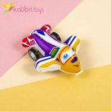 Самолетики инерционные цветные, оптом - фото 2
