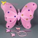 Набор карнавальный крылья феи розовый оптом фото 021