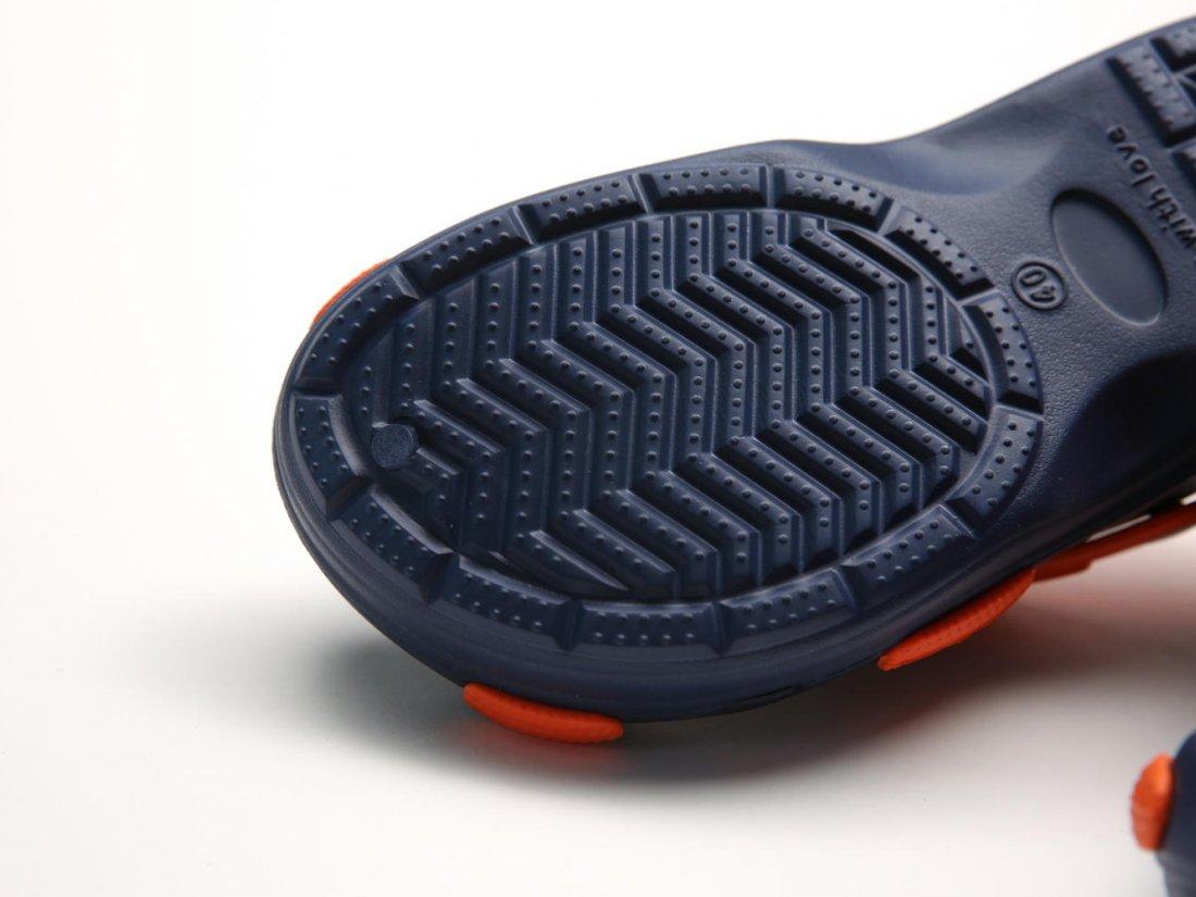 Синие кроксы оптом C27-45, 4rest, мужская обувь оптом, фото 3