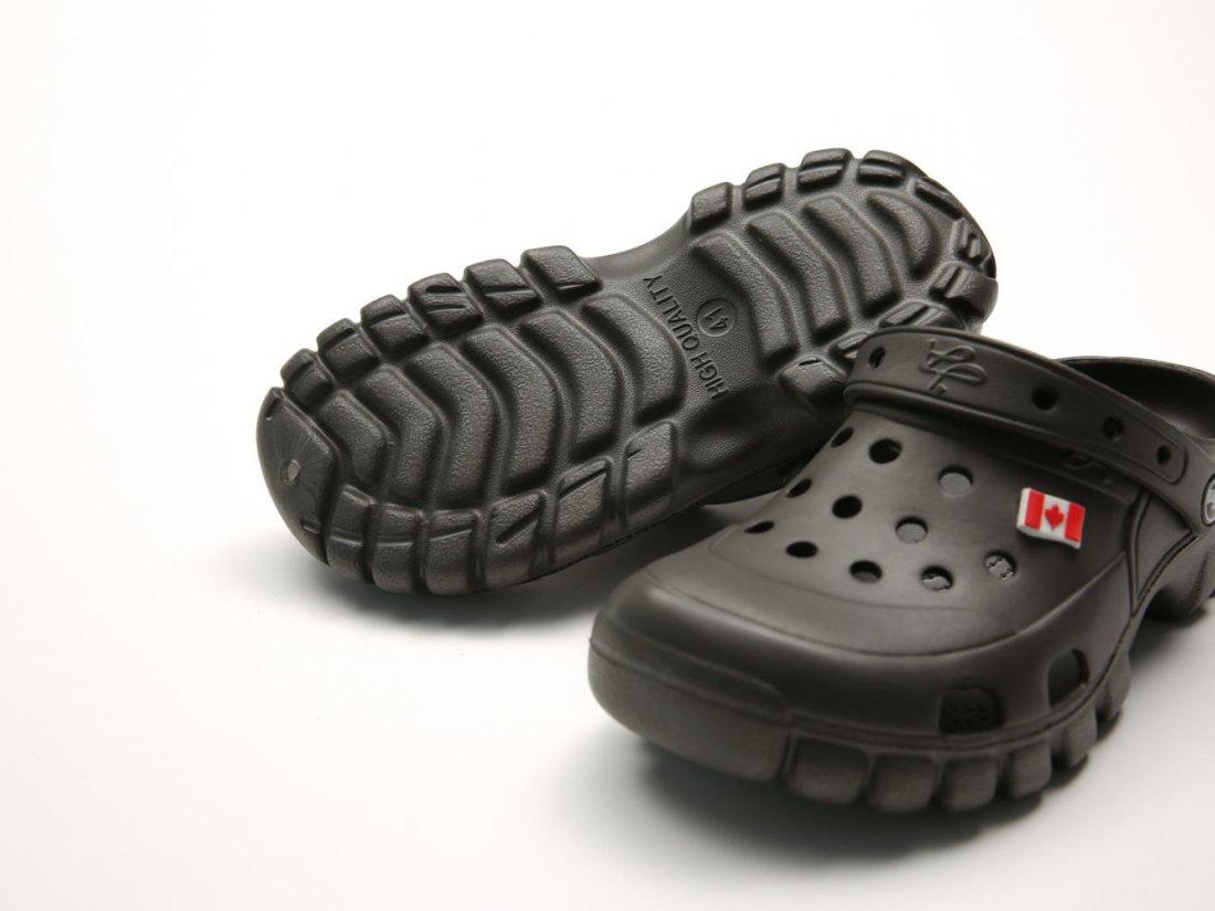 Черные кроксы оптом C26-40, 4rest, женская обувь оптом, фото 3