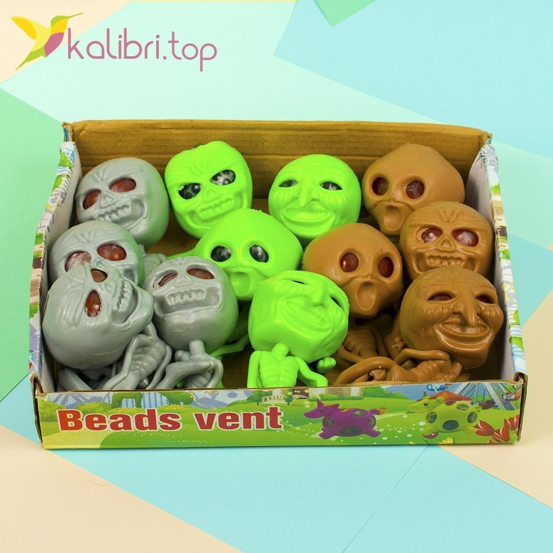 Детская игрушка антистресс Скелет - фото 3