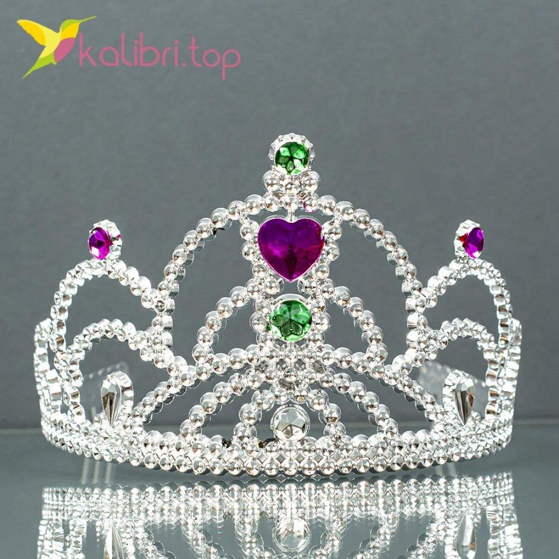 Новогодняя корона розовое сердце оптом фото 5587