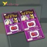 Зубы вампира с кровью оптом фото 01