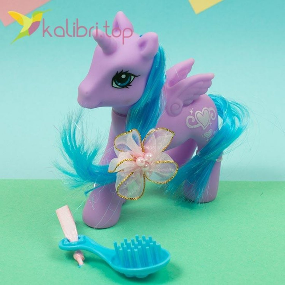 Детская игрушка My Little Hors с расчёской, оптом фото 2