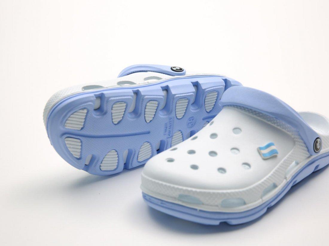 Белые кроксы оптом C32-40, 4rest, женская обувь оптом, фото 3