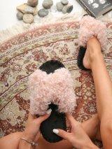 Женские домашние тапочки барашки иксики Розового цвета, Family Story - 2