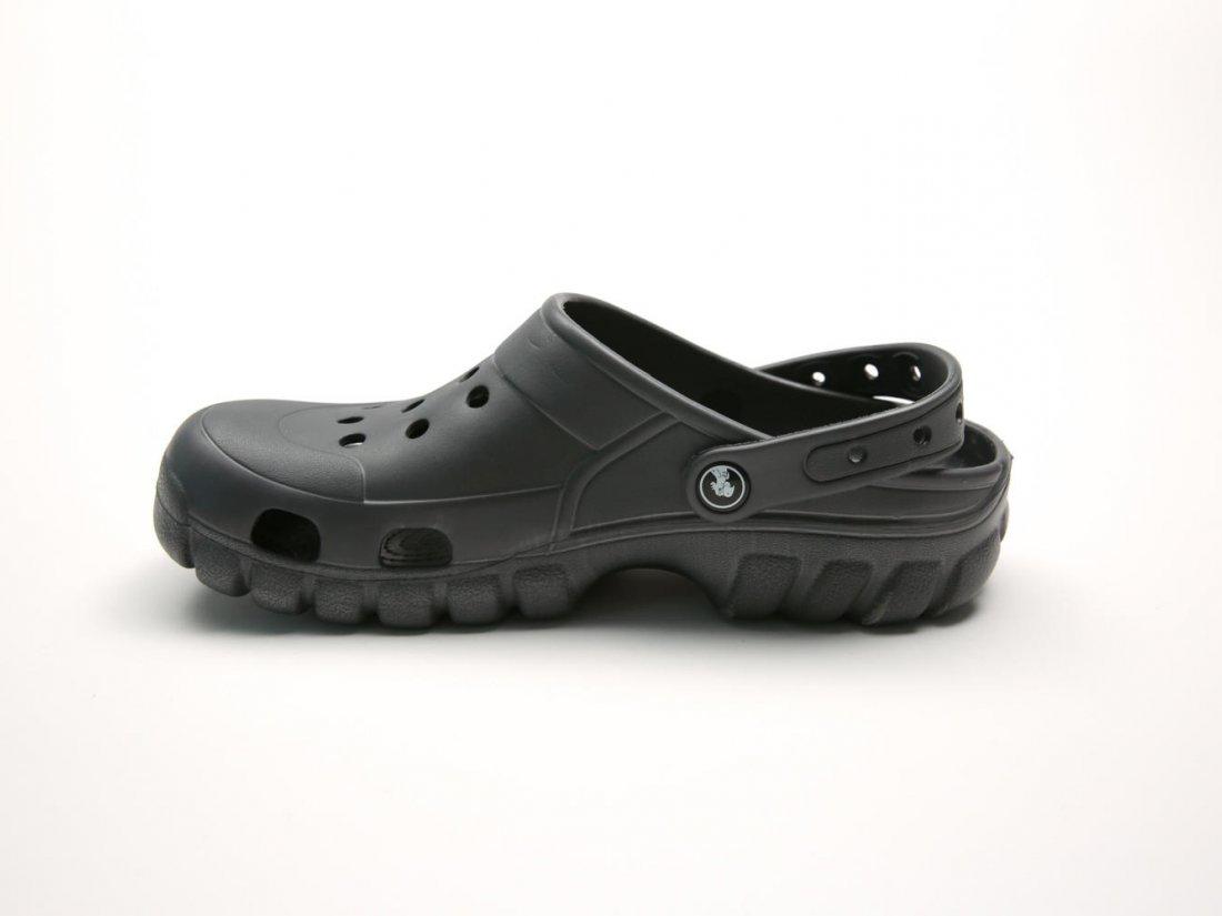 Графитовые кроксы оптом C23-40, 4rest, женская обувь оптом, фото 1