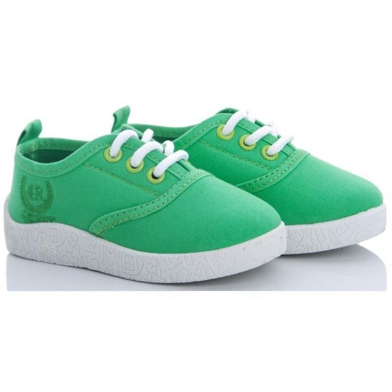 Детские слипоны оптом 12-34 зеленые, 4rest, обувь оптом - фото 1