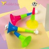 Детская игрушка дудка тройная 21,5 см, оптом - фото 1