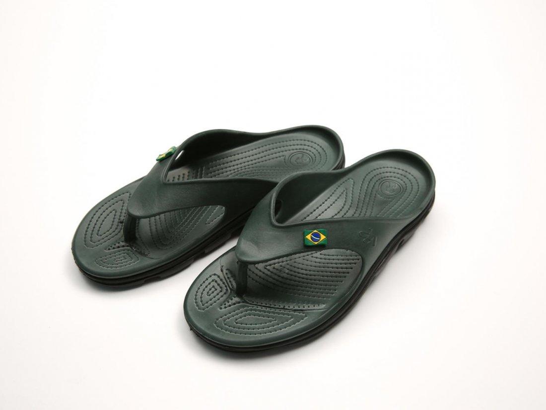 Черные кроксы вьетнамки оптом C31-40, 4rest, женская обувь оптом, фото 2