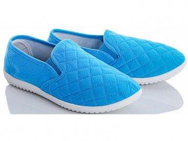 Женские слипоны оптом 20-32/1 W синие, 4rest, обувь оптом