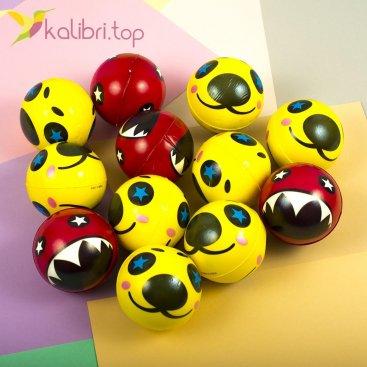 Мячики мягкие, поролоновые Морды, оптом - фото 1