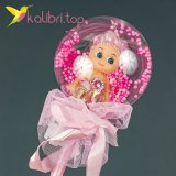 Светодиодные палочки куколки розовый оптом фото 132