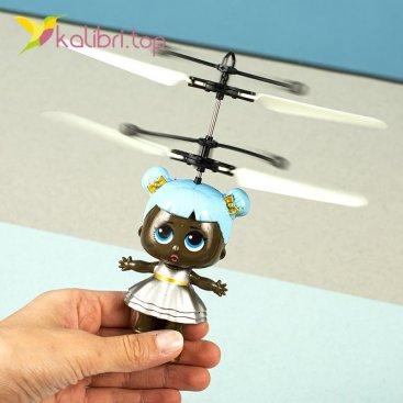 Сенсорная летающая игрушка от руки Девочка оптом фото 7