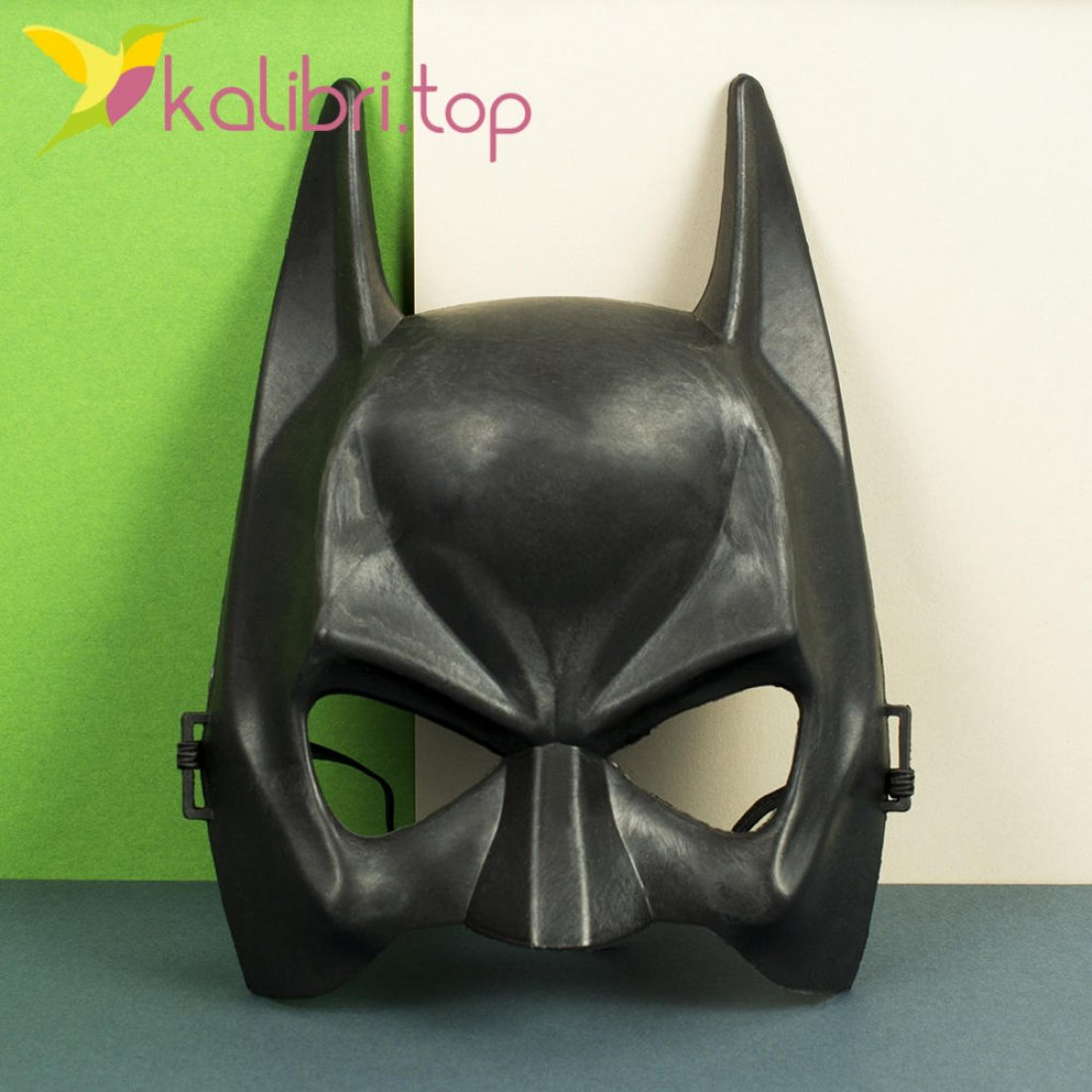 Маска карнавальная пластик Бэтмена оптом фото 1