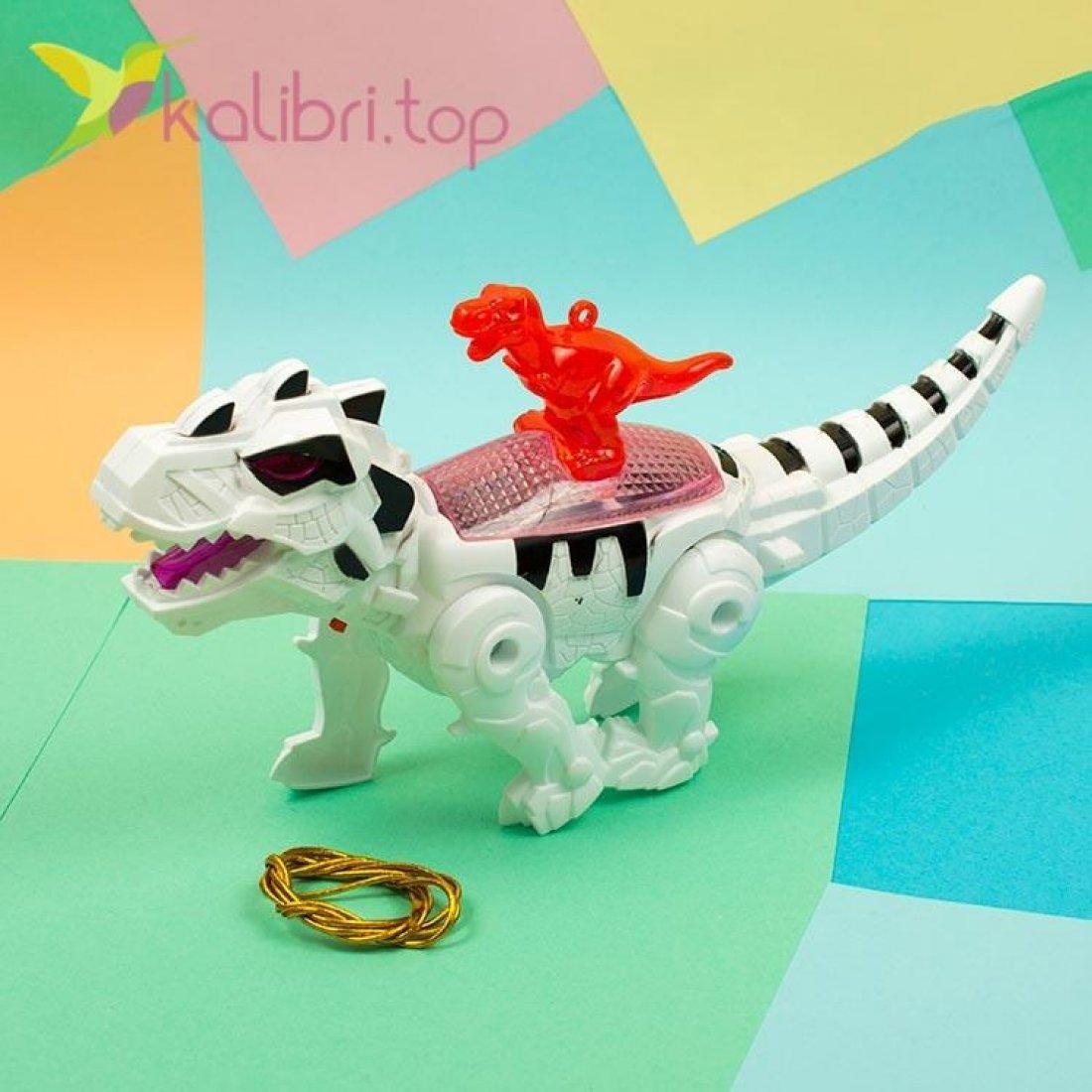 Механическая игрушка динозавр Рекс, оптом фото 2