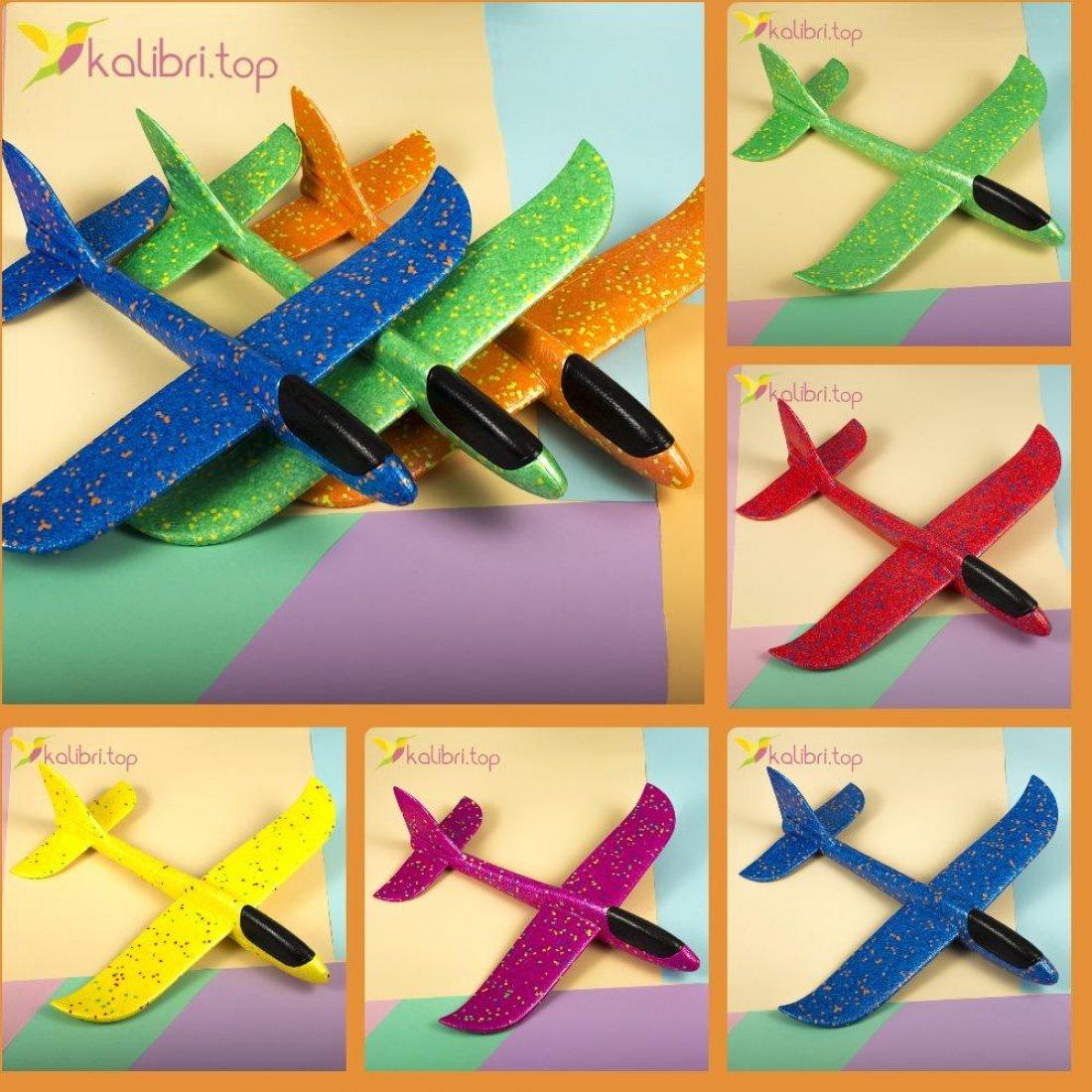 Самолетик, планер из легкого пенопласта - Kalibri