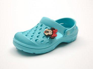 Голубые кроксы оптом C11-34, 4rest, детская обувь оптом, фото 3