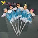 Светящиеся LED палочки девочки принцессы голубые оптом фото 94