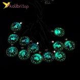 Кулон светящийся флуоресцентный Знаки Зодиака оптом фото 01