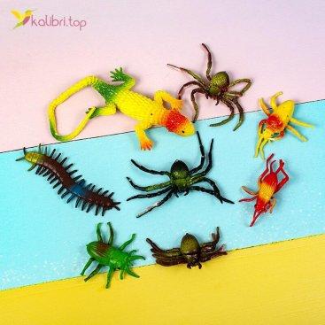 Силиконовые насекомые Карьер NA-06 оптом фото 01