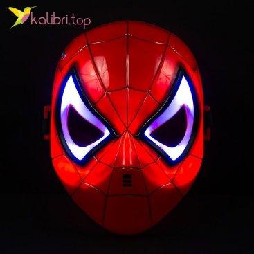 Светящиеся маска Человека Паука Spiderman оптом фото 01