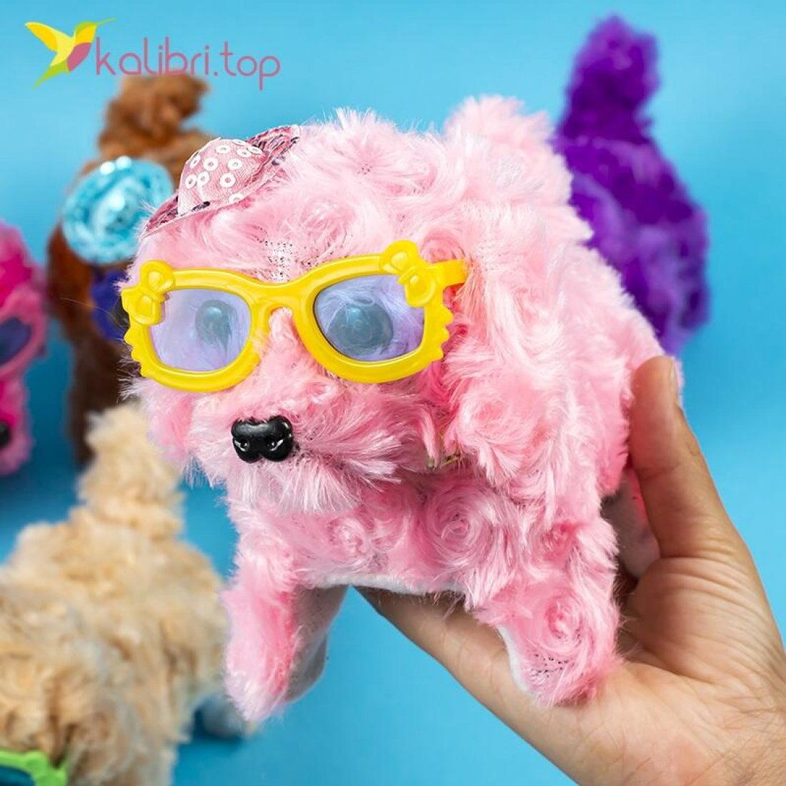 Тявкающие собачки в очках оптом фото 02