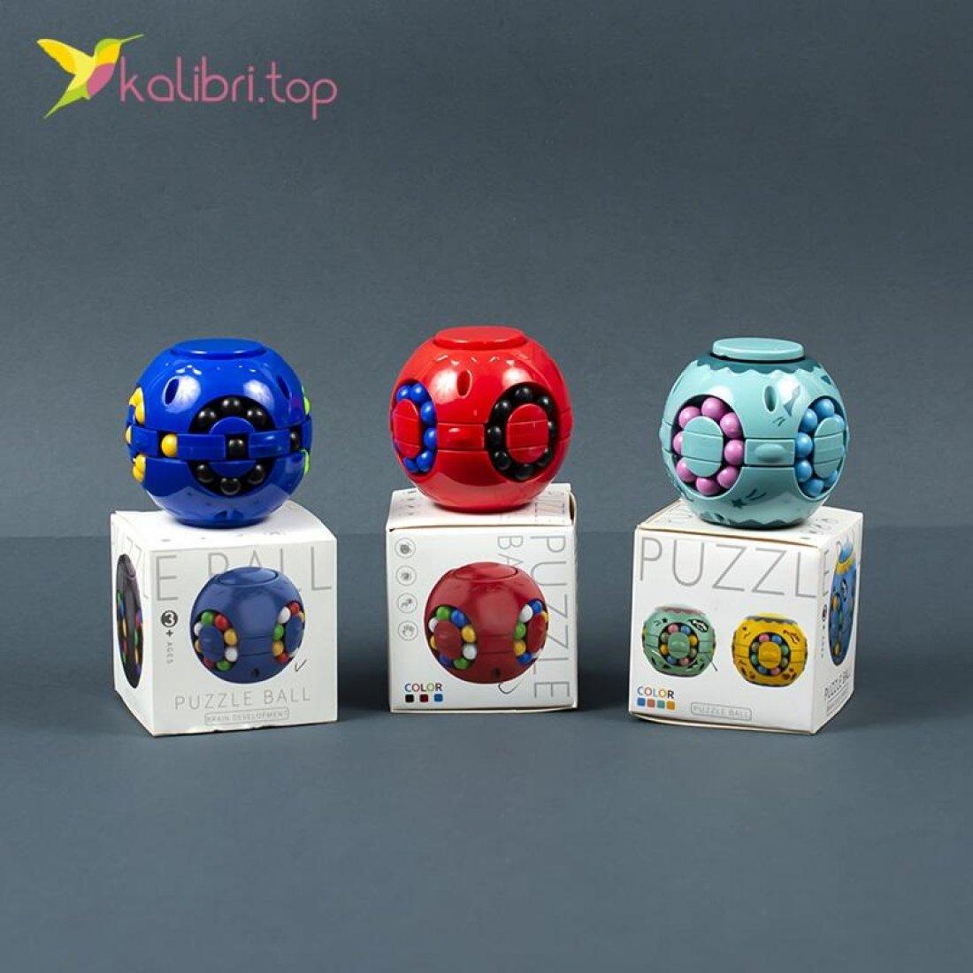Головоломки Puzzle Ball Шары цветные оптом фото 02