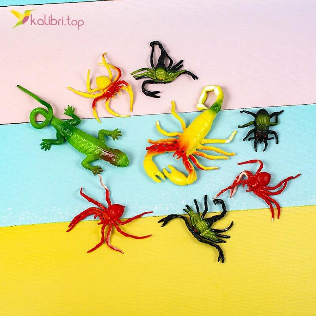 Силиконовые насекомые пустыни NA-06-03 оптом фото 01