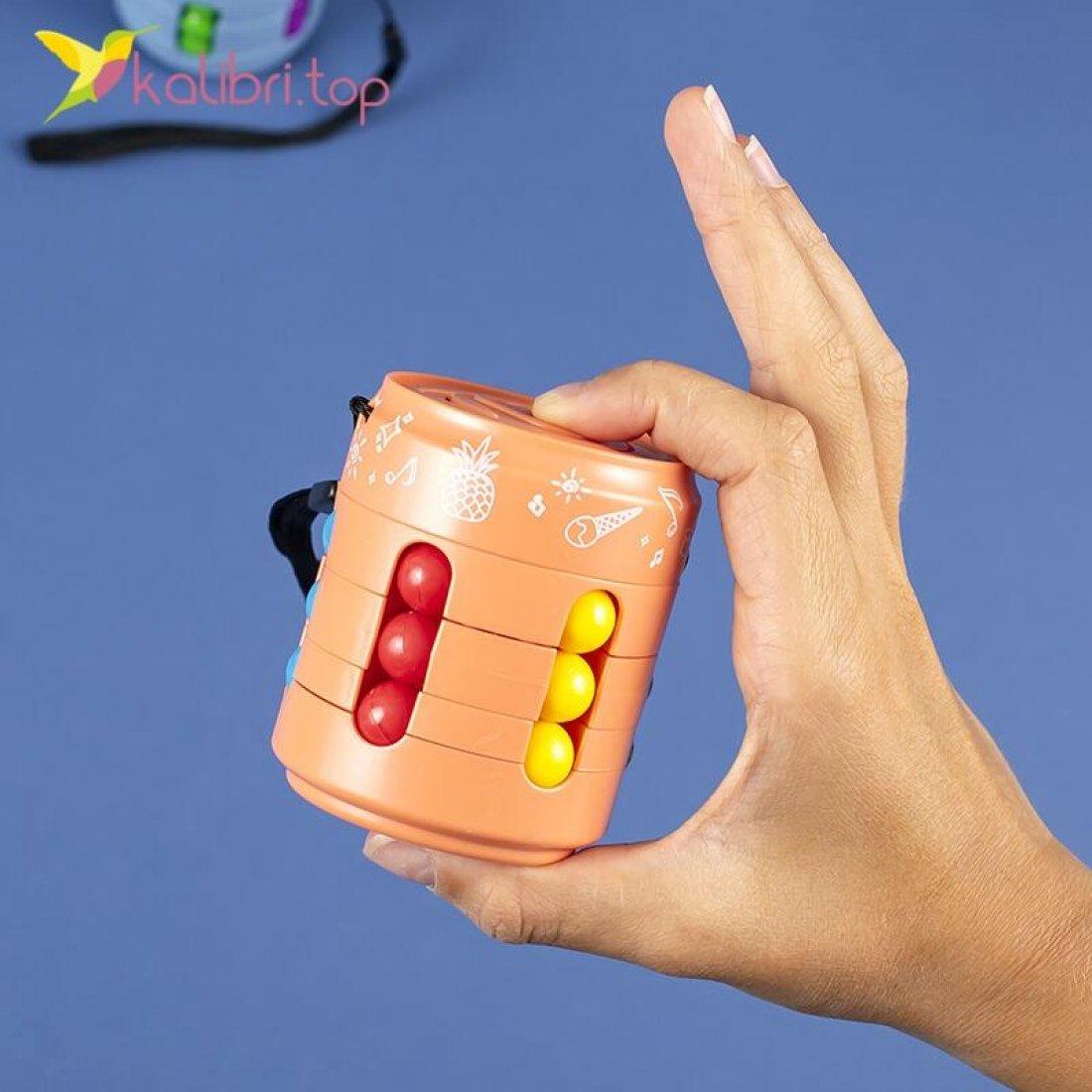 Игрушка антистресс Головоломка SPINNER CUBE оптом фото 02