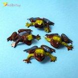 Силиконовые жабы Коричнево-зелёные оптом фото 01