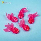 Силиконовые рыбки красные оптом фото 01