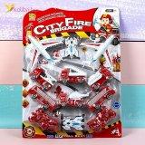 Игрушечные инерционные машинки Пожарные М-008 оптом фото 01