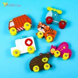 Детская деревянная игрушка Машинки оптом фото 22