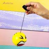 Купить поролоновые мячи Смайлы на резинке 7,6 см оптом фото 066