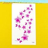 Детские переводки на руку Цветочки оптом фото 6
