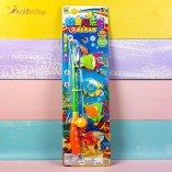 Купить Набор детской магнитной рыбалки с сачком Fishing оптом фото 01