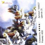 Алмазная мозаика Птицы Зимой 40*50 см оптом фото 33