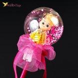 Светодиодные палочки куколки малиновый оптом фото 01