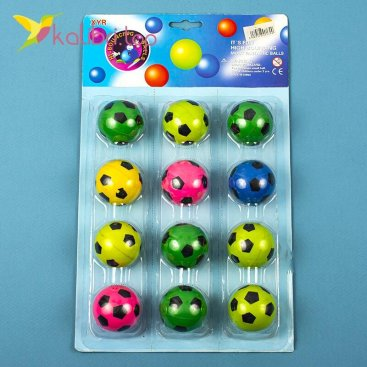 Мяч попрыгунчик Футбол 45 мм оптом фото 01