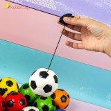 Купить мячи поролоновые Футбольные на резинке 7,6 см оптом фото 05