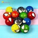 Мячи поролоновые Паук 6,3 см оптом фото 01