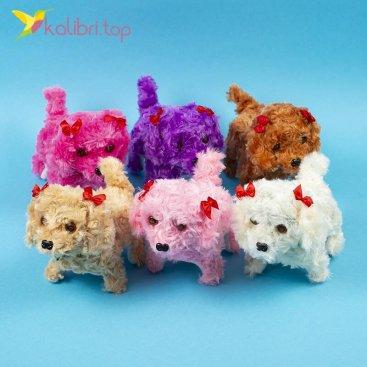 Тявкающие собаки с бантиками оптом фото 01