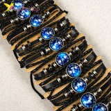 Флуоресцентные Браслеты на руку Знаки Зодиака оптом фото 03
