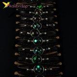 Светящиеся флуоресцентные Браслеты Планеты оптом фото 01