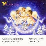 Рисования по номерам Ангелы 30*40 см оптом фото 1