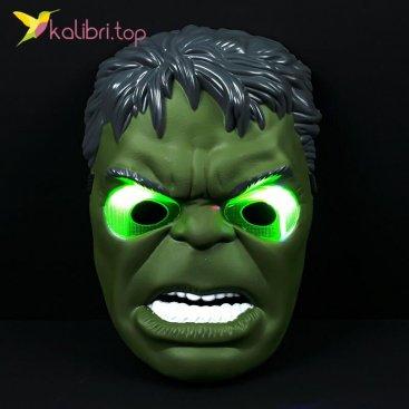 Светящиеся маска Халка Hulk оптом фото 01