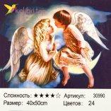 Рисования по номерам Ангелочки 40*50 см оптом фото 1